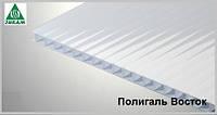 Поликарбонат сотовый Полигаль Россия 6мм рекламный