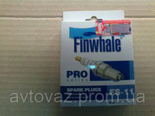 Свеча зажигания ВАЗ 2110, 2112, Калина, Приора 16 клапанные инжекторные (Finwhale)