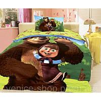 Постельное Белье 3d Маша и Медведь