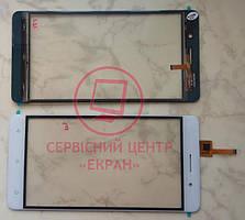 Bluboo Maya сенсорний екран, тачскрін білий