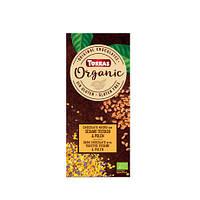 Черный шоколадTorras ORGANIC (с жареным сезамом и пыльцой), 100г