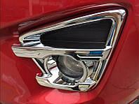 Mazda CX-5 хром накладки на противотуманные фары