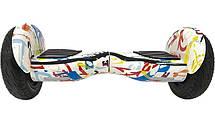 Гироскутер Smart Way Balance Premium белый графити, фото 2