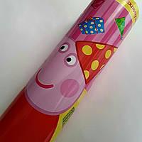 """Пневманическая хлопушка для детей """"Свинка Пеппа"""" длина 30 см"""