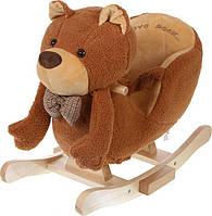 """Детская  качалка кресло """"Мишка"""" Ecotoys 6091"""
