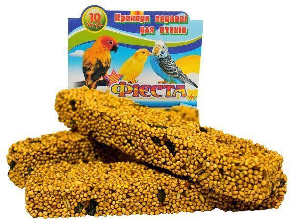 Корм папуг Фиеста крекер Сх2 (фруктовый) 10 пал. Лори