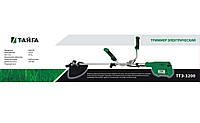 Электрокоса Тайга ТТЭ-3200 в комплекте 2 ножа и 2 катушки с леской