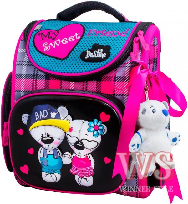 1f353525f977 Ранец школьный рюкзак детский ортопедический для девочек фабричный Бренд DE  LUNE