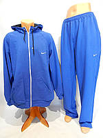 Спортивный костюм мужской полноразмерный Nike весна синий разм. 50-56