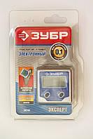 Уровень-угломер ЗУБР электронный, магнитный, шаг измерения 0,1 градус.