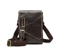 Небольшая мужская кожаная сумка Marrant, фото 1