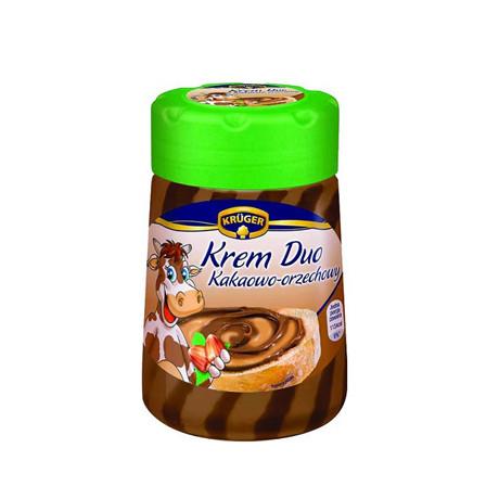 Шоколадно-ореховое масло Kruger «Krem Duo», 400г