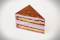 """Картонная коробка для торта 15*11*9 см """" Кусок тортика"""""""