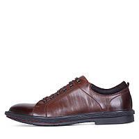 Коричневые мужские туфли Euromoda 1WC746-1-142