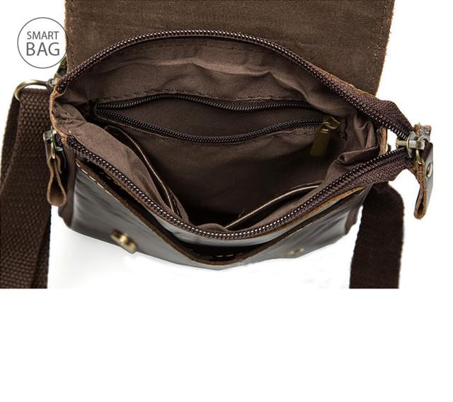 Небольшая мужская кожаная сумка Marrant