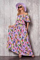 Женское платье № 934.1 сиреневый
