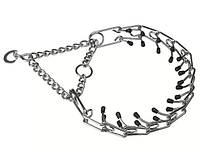 Тренировочный металлический ошейник для собак CHROME CA6000