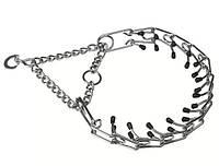 Тренировочный металлический ошейник для собак CHROME CA6002