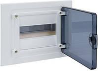 Щит распределительный в/у с прозрачной дверцей на 8 модулей (1х8) Hager Golf VF108TD