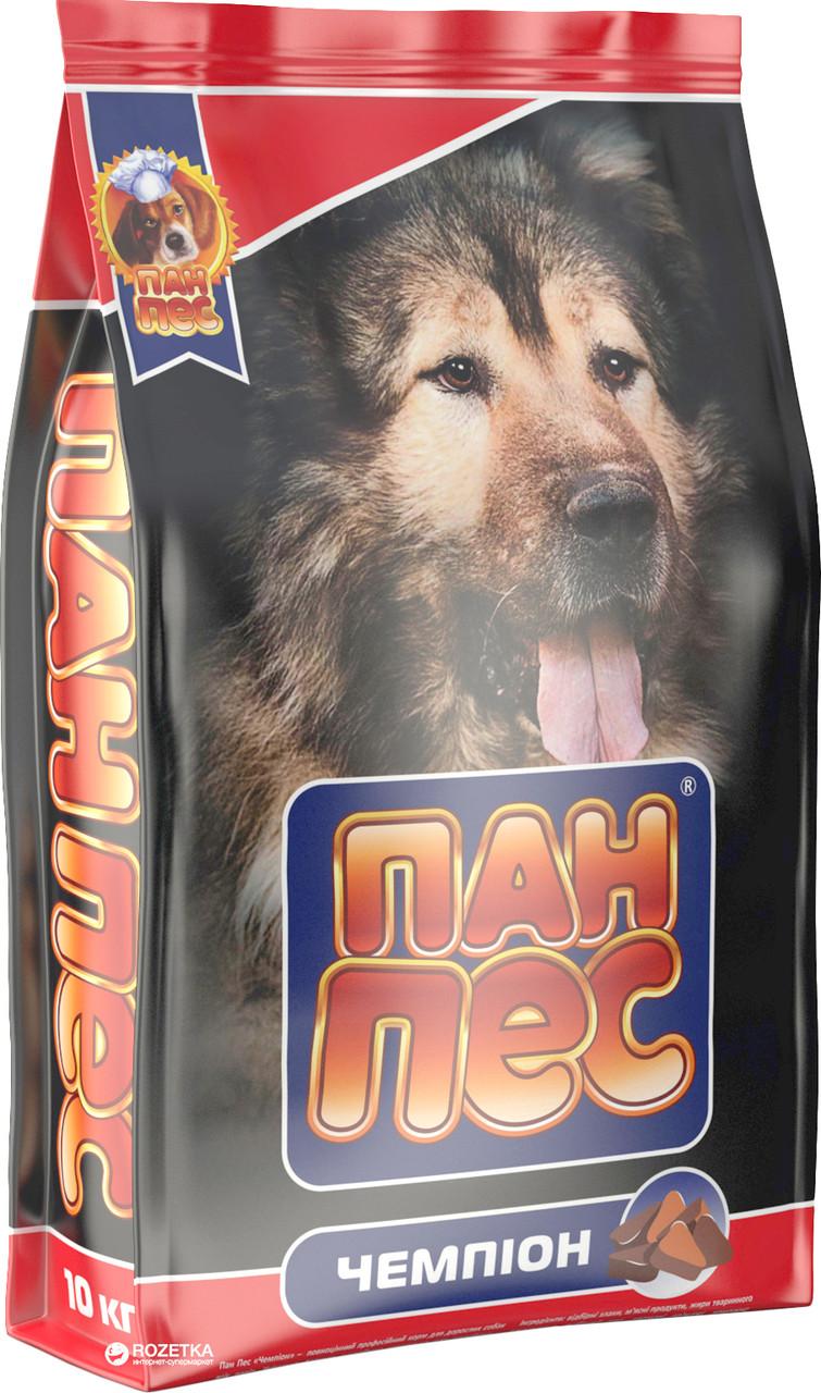 Корм для собак Пан Пес сухой Чемпион 10 кг