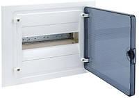 Щит распределительный в/у с прозрачной дверцей на 12 модулей (1х12) Hager Golf VF112TD