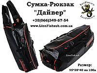 Рюкзак-Сумка LionFish.sub для подводного охотника. Герметичная.ПВХ