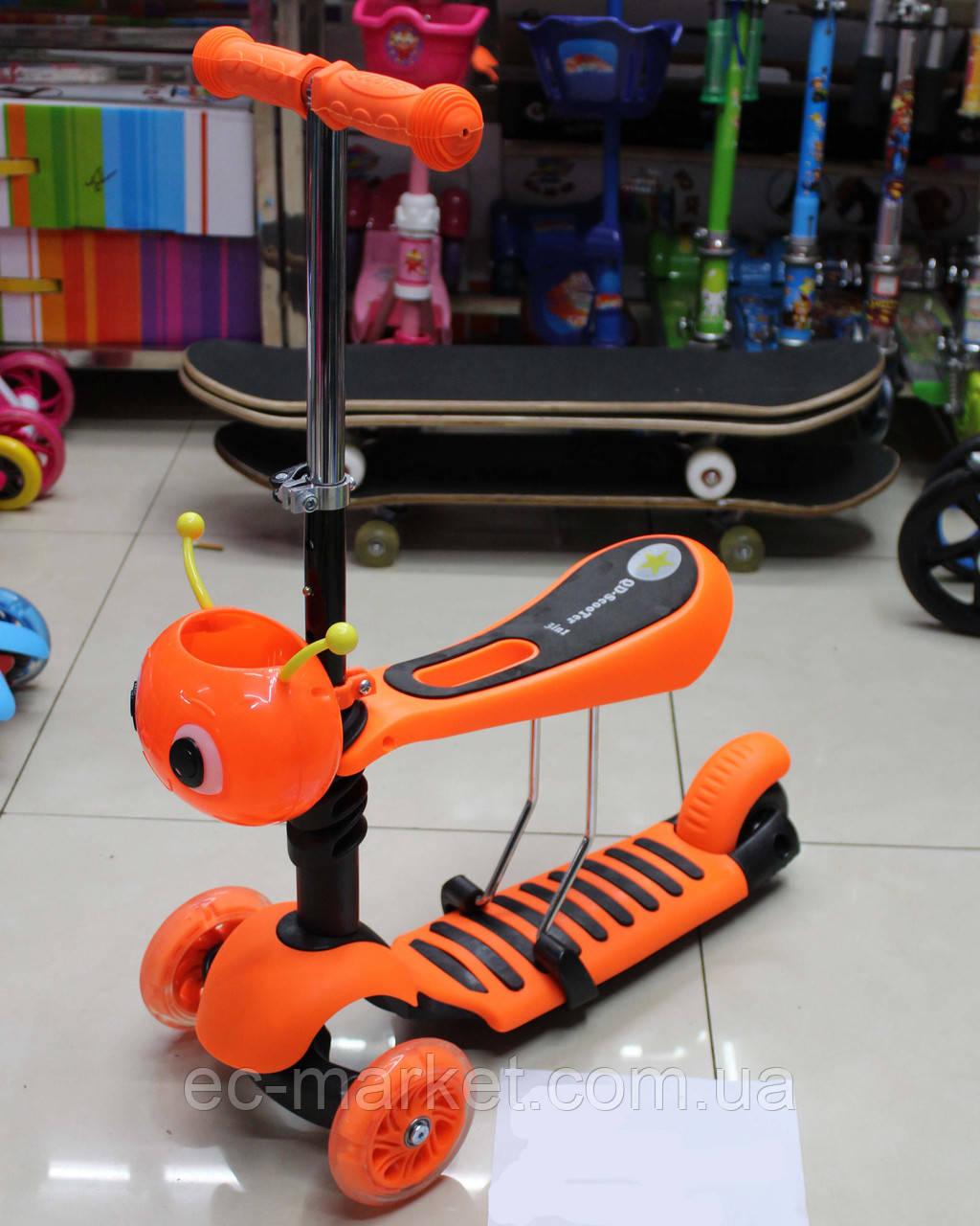 Самокат трехколесный детский с сиденьем BT-KS-0057 - Euro City Market в Киеве