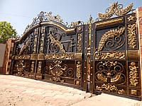 Ворота кованые Алиса