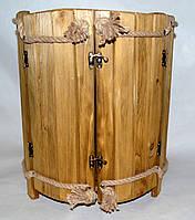 Мини-бар из натурального дерева, оригинальный подарок
