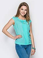 Блуза 411 (3 цвета), шифоновая блузка, блуза свободная, блузка однотонная, дропшиппинг поставщик
