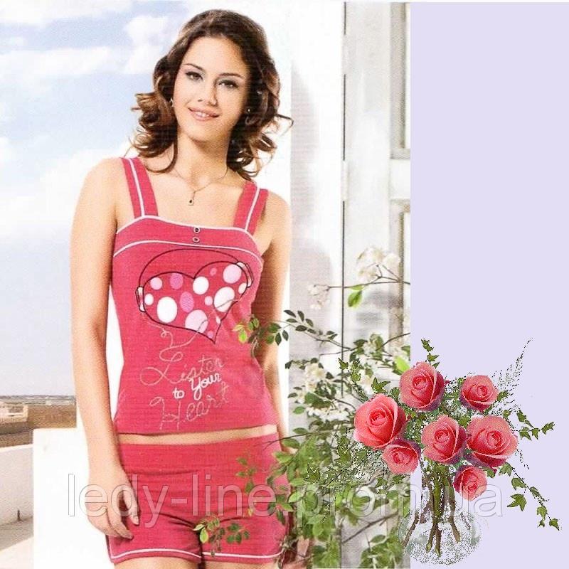 Женская пижама из трикотажа   Турция  Т  2175