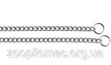 Металлическая рывковая цепь для собак CHROME CS1676