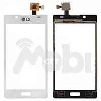 Тачскрин/Сенсор LG P700 Optimus L7/P705/P750 белый high copy