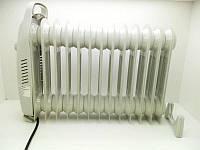 Масляный обогреватель А-Плюс 1988, 13 секций, мощность 1,3 кВт, защита от перегрева, механическая регулировка