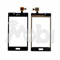 Тачскрин/Сенсор LG P700 Optimus L7/P705/P750 черный high copy