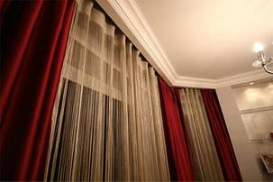 Шторы для гостинной, спальни, атласные., фото 2