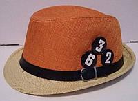 Двухцветная модная шляпа для подростка