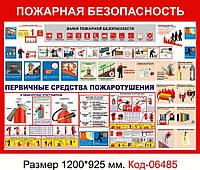 "Стенд ""Пожежна безпека"" Код-06485"