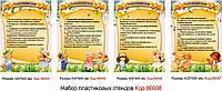 Комплект стендов в кабинет психолога Код-06008