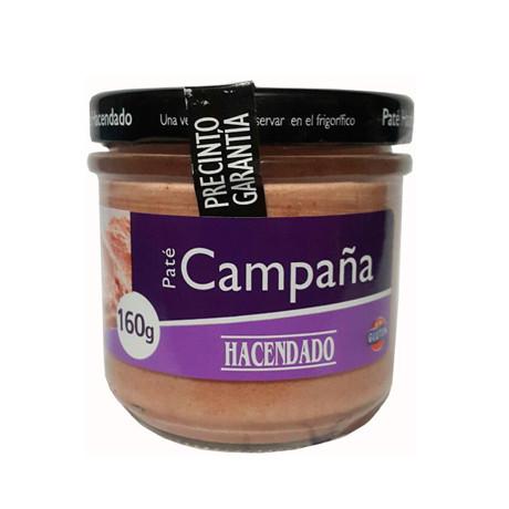 Паштет из свинины Hacendado «Pate Campana», 160г - Продукты из Италии - интернет магазин «Market IT» в Львове