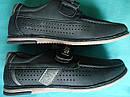 Детские школьные туфли мокасины для мальчиков Размер 37, фото 2