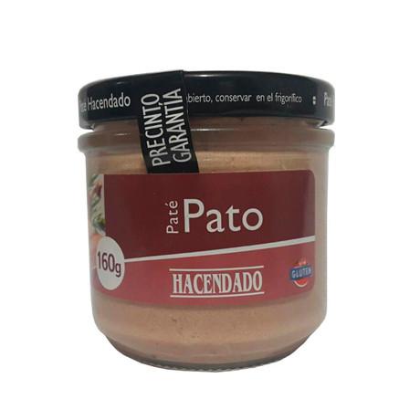 Паштет из утиной печени Hacendado «Pate de Pato», 160г