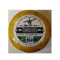 Голландский сыр Гауда с травами, 500г
