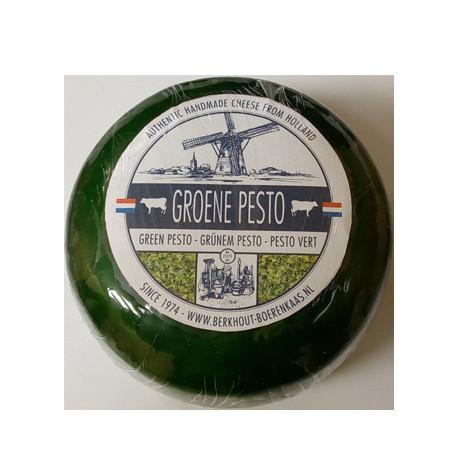 Голандский сыр Гауда с зеленым песто, 500г