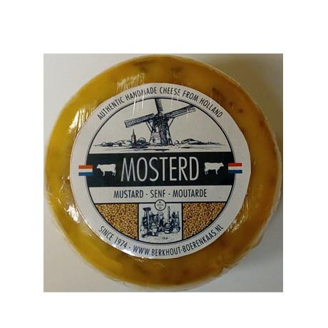 Голландский сыр Гауда с горчицей, 500г