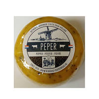 Голландский сыр Гауда с черным перцем, 500г