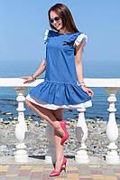 Платье женское из летнего джинса