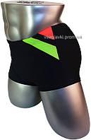 Мужские плавки боксеры для купания 13-055 черный