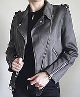 Женская куртка  Outer замша, косуха