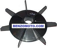 Вентилятор (крыльчатка) компрессора 29мм х 179мм посадка шпонка